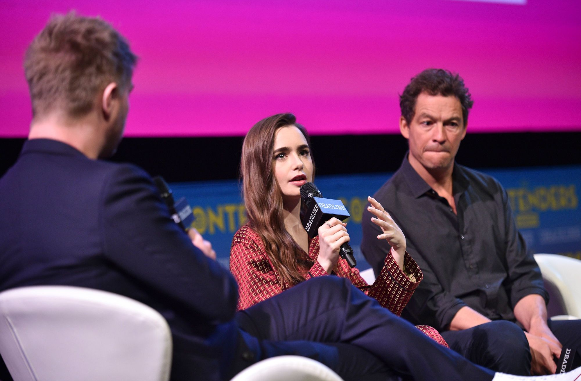 "Lily Talks ""Les Misérables"" – The Contenders Emmys"